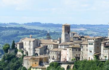Acqua e vino si incontrano in Umbria